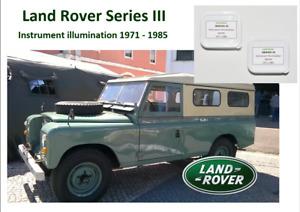LAND ROVER  1971 - 1985 cluster illumination & dome 11 LED KIT