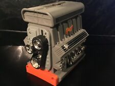 Vintage Mattel Hot Wheels Carrying Case Engine with Ramp. Rare very good