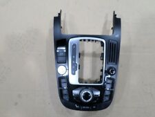 OEM AUDI A5 08-16 CENTER CONSOLE MAIN RADIO CONTROL PANEL #8T0919609G WFX