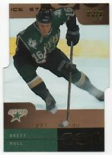 2000-01 Upper Deck Ice Stars 14 Brett Hull 271/500 Dallas Stars