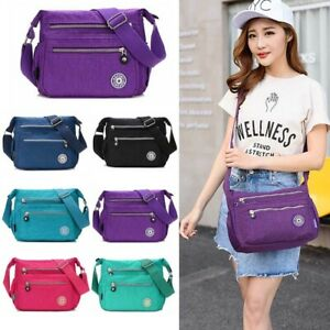 Ladies Messenger Body Bag Women Shoulder Over Holiday Travel Bag Handbag
