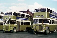 grampian rt 323 & 265 depot 9-74 6x4 Quality Bus Photograph