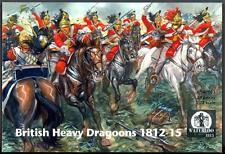 Waterloo 1815 Miniatures 1/72 BRITISH HEAVY DRAGOONS 1812-1815 Figure Set