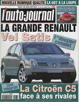 L'AUTO JOURNAL 2001 563 GENEVE PORSCHE 996 GT2 AUDI A4 2.0 20V CITROEN C5 2.2 HD
