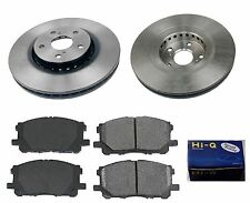 Front Ceramic Brake Pad Set & Rotor Kit for 2005-2006 Lexus RX330 CANADA BUILT