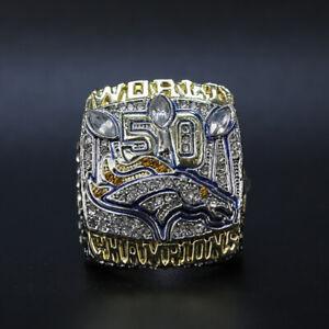 2015 Denver Broncos Championship Ring Size 11 Championship Ring