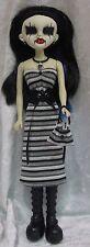 BeGoths BLEEDING EDGE Gothic Doll Clothes #35 Dress, Corset, Purse, Necklace