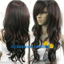 New fashion Vogue brown curl women's wigs like real hair + wig cap