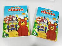 EL OSITO MISHA SERIE COMPLETA 3 DVD SERIE TV INFANTIL 26 CAPITULOS UNICA 2T