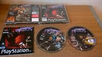 Sony PlayStation Ps1 Pal HEART OF DARKNESS Ocean Black label Rare