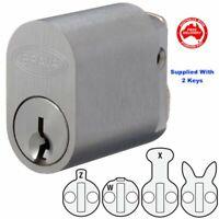 BRAVA Quality 570 Style Oval Lock Cylinder-Suits Lockwood,Legge,Dorma-Free Post