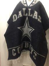 Mexican serape handmade Dallas Cowboys Poncho Thick One Size Fits All Cowboys