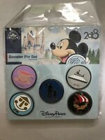 Disney trading pin set 2018 Booster 5 Piece Set