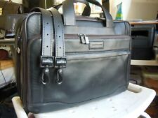 vintage Hartmann American Leather Attache Briefcase canry on ~ With Strap