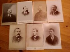 Antique Cabinet Card Photos - OHIO Photography shops -1890-1920 (7)