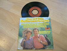 """7"""" Single Kollmannsberger Ein Rucksack eine Mundharmonika Vinyl POLYDOR 2041800"""