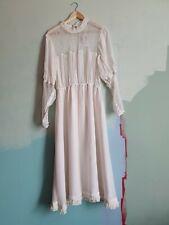 GHOST BNWT white Lace Bride Wedding Party Midi Dress 16 18 XL RRP £195