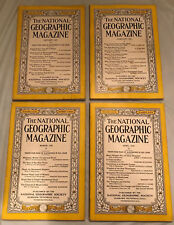 Lot of National Geographic 1935. Vintage Coke & Texaco ads. Complete/Full Year!