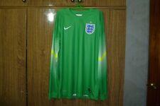 England Team Nike Football Goalkeeper Shirt 2014/2015 GK Soccer Jersey Size M