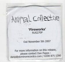 (HU879) Animal Collective, Fireworks - 2007 DJ CD