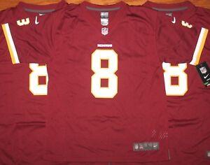 Washington Redskins #8 KIRK COUSINS Youth Jersey L XL NWT NEW Nike Burgundy
