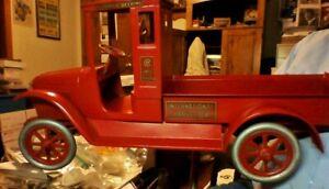 Buddy L Red Baby Truck, 1921 Pressed Steel, Gorgeous Restoration !!!