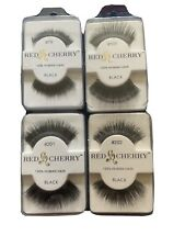 Red Cherry Four Sets Of Human Hair Eyelashes