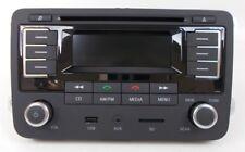 GENUINE VW RMT 300 CD MP3 SD CARD 3.5MM BLUETOOTH DIN ISO RADIO HEAD UNIT