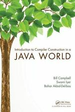 Introduction to Compiler Construction in a Java World by Swami Iyer, Bill...