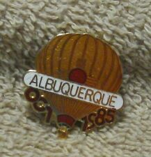 OCT 1985 ALBUQUERQUE BALLOON PIN