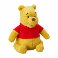 "Disney Authentic Winnie the Pooh Plush Stuffed Animal Toy Doll New 12"" H"
