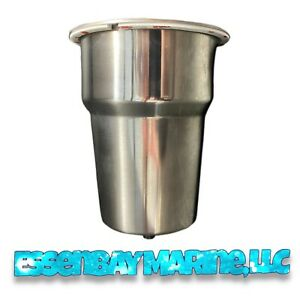 """Whitecap Industries 4.5"""" Yeti Style Stainless Steel Cup Holder S-3507"""