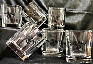 Jack Daniels-Gläser-Set 6teilig, OVP & unbenutzt, Rarität aus Gastronomie