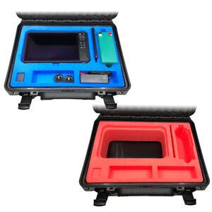 Hartschaumstoff-Einsatz für Echolot-Koffer – Inlay für verschiedene Echolote