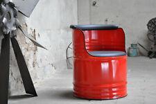 Fass Sessel 200 Liter Fass Oelfass Blechfass Barrel - Farben nach Wahl