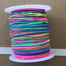 100M Diy Beading Cord Thread Stretch String Wires Rainbow Elastic Jewelry Cord
