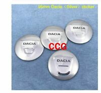 4pcs 56mm Dacia Duster Logan MCV 56mm Dacia sticker