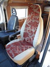 TO FIT A TALBOT EXPRESS MOTORHOME, SEAT COVERS MH-003 CHINESE LEAF