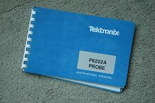 Tektronix P6202A Original Instruction Manual with Schematic, Parts: 070-3642-00