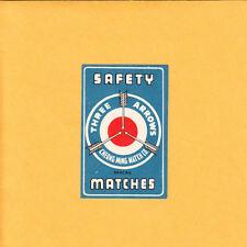 VINTAGE Match Matchbox Label DEEP RICH COLOR Three Arrows Cheong MIng Macau B1