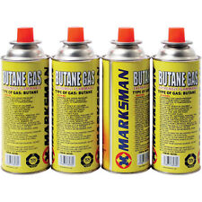 Marksman Butane Gas Canisters - 4 Pack