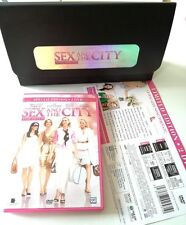 SEX AND THE CITY THE MOVIE ED.LIMITATA 2 DVD + POCHETTE NERA FILM OTTIMO ITA!