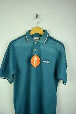 ITALIAN VINTAGE Mens ELLESSE Polo Shirt SOFT CASUAL SPORT Short Sleeve Small P18