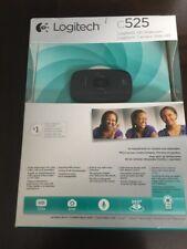 Logitech HD Webcam C525 720P 8MP 360 Degree Swivel and AutoFocus NEW