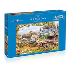 Gibsons Pick Your Own 2000 Piece Jigsaw Puzzle by Mat Edwards G8010