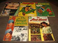 Dell Four Color Comics 547, 678, 757, 791, 953 Lot of 5 1954-58 Comic Books
