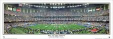 New England Patriots SUPER BOWL XXXVI (2002) CHAMPIONS Panoramic POSTER Print