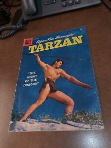 TARZAN #98-1957-DELL comics GORDON SCOTT COVER- BURROUGHS- MARSH- MANNING art