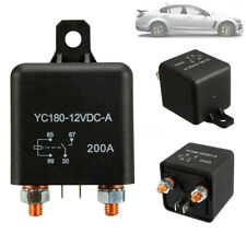 12V 200A Heavy Duty Split Charge ON/OFF Switch Relays Car Auto Boat 200Amp New