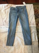 NEW 7 SEVEN FOR ALL MANKIND THE ANKLE Super SKINNY JEANS 31 $219 Denim Stretch
